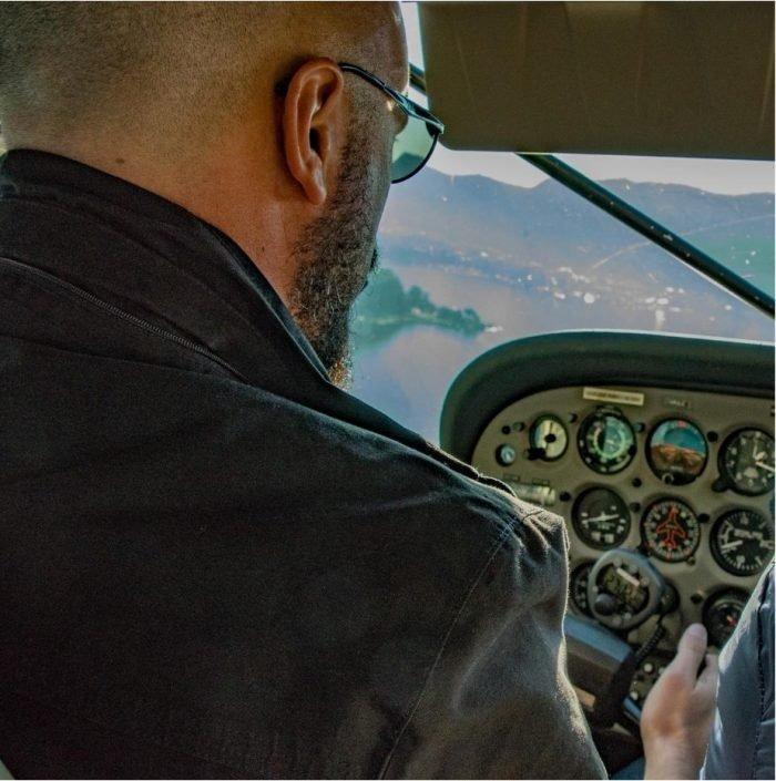 vida de piloto de avião foto
