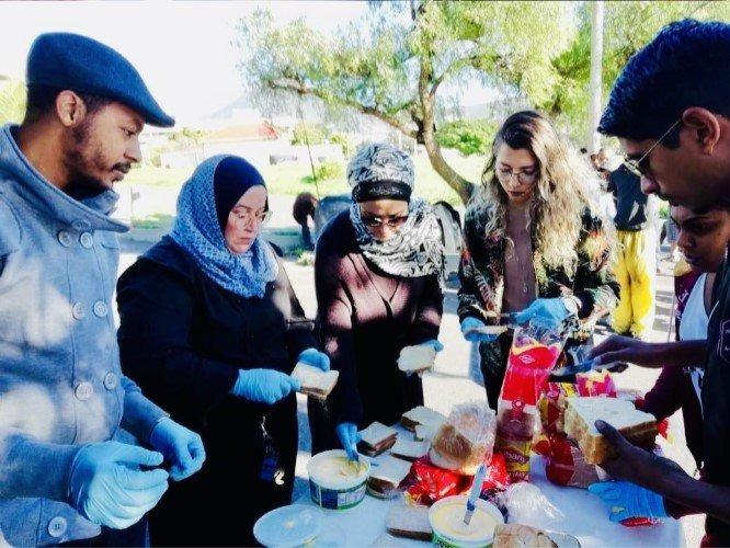 trabalho voluntário na africa